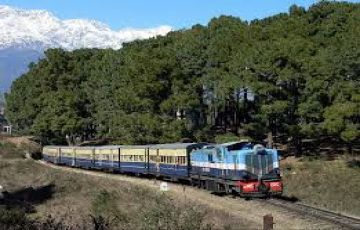 Joyful Toy train  Ride Pathankot- Dalhousie - Palampur