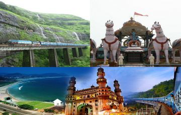 7N8DTOUR PACKAGE TO VIZAG, ARAKU and HYDERABAD