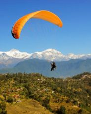 Fly high in the sky - Paragliding