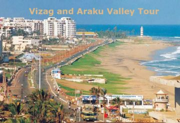 VIZAG  ARAKU  BORRA CAVES  VIZAG TOUR PACKAGE