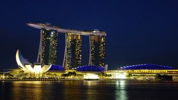 Singapore with Marina Bay Sands