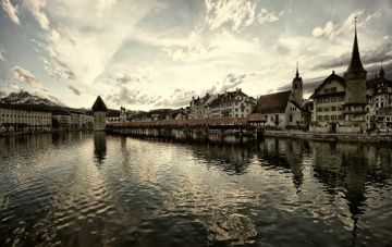 Honeymoon in Lucerne Paris and Amsterdam