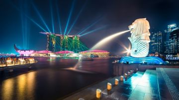SINGAPORE ACTIVITY PACKAGE 4 NIGHTS 5 DAYS ONE FERRER OR PAN PACIFIC 5 STAR DELUXE