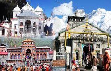 Gangotri - Kedarnath - Badrinath Yatra Package Ex Haridwar