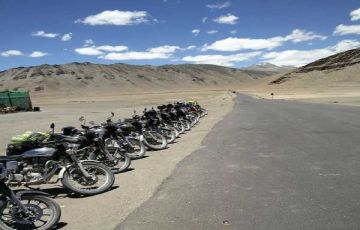 Leh Ladakh Bike Trip From Manali