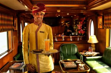 Luxury Train - Maharaja Express - Indian Panorama