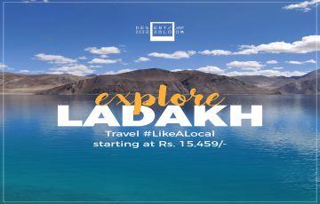 Leh Town and Pangong Lake Sightseeing Only