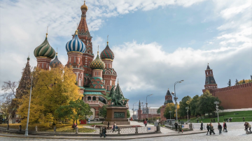 Russia Fixed Departures with Crimea + Moscow + St. Petersburg