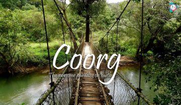 Ooty/Coorg/Mysore 4N/5D