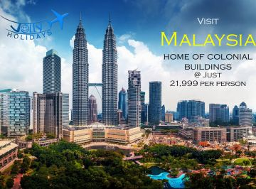 Budget saver  Malaysia tour from Chennai -Jolly holidays