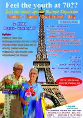 Senior Citizen Europe Tour
