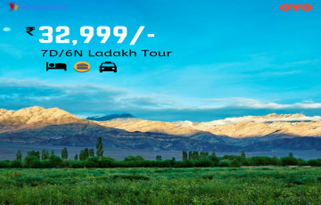 Ladakh Fixed Departure Ex Delhi - 6 Nights starting @ INR 32,999