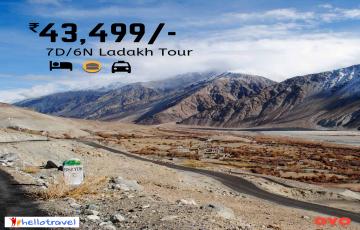Ladakh Fixed Departure Ex Mumbai - 6 Nights starting @ INR 43,499