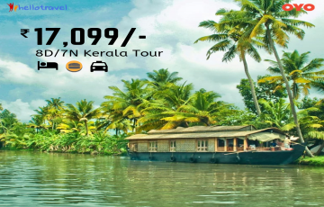 Exotic Kerala Land Package Only - 7N/8D starting @INR 17099