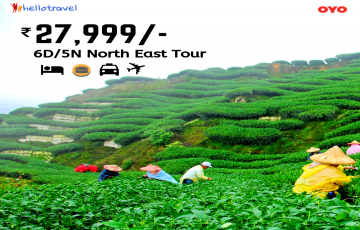 North East Fixed Departure Ex Delhi - 5 Nights starting @ Rs. 27,999