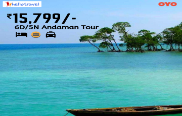 Andaman - Sun and Sea  Land Package only - 5N/6D starting @INR 15799