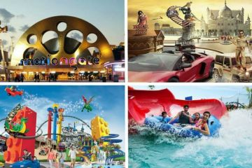 3 Star Hotel Stay Dubai with City Tour , Laguna Water Park and Dubai Park and Resort 1 Park Access with Visa