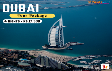 Dubai with Abu Dhabi Land Package Only - 4N/5D @INR 17,500 Only