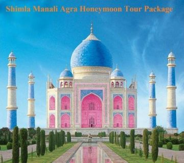 7 Days Amazing Agra Manali Shimla Tour Package