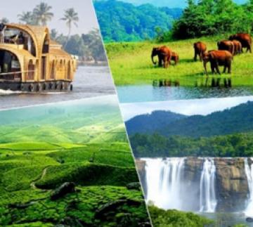 Kanyakumari to Kumarakom Amazing  Kerala Package For 4N/5D