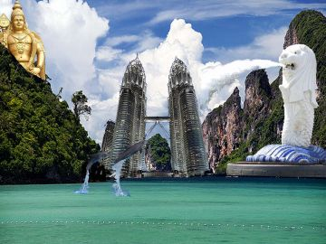 Singapore With Malaysia tour @  call 8072595319