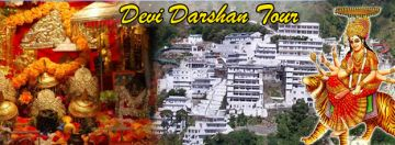5 Devi Darshan Holiday Tour From Katra by Cab