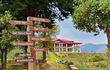 FIND PEACE AT Dyo , The Organic Village Resort, Mukteshwar ,