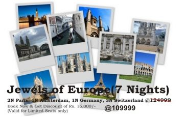Jewels of Europe(7 Nights)