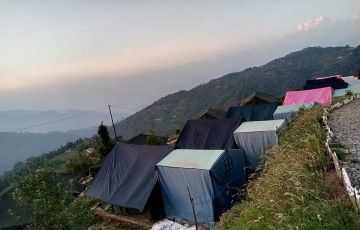 Camping In Kanatal by Vogovo