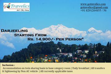 Darjeeling Tour Pacakge 3 Nights