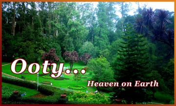 ENJOY NATURE @OOTY