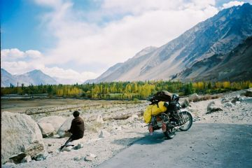 A bike trip in LEH-LADAKH