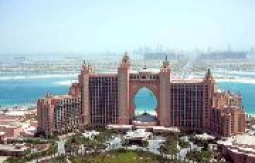 Dubai With Atlantis Fly