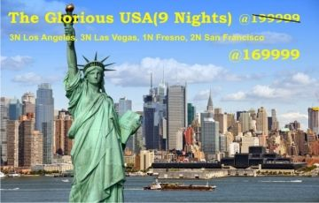 The Glorious USA(9 Nights)