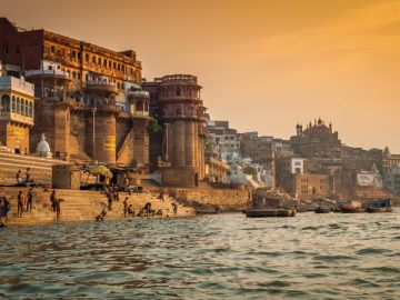 06 Nights/07 Days Golden Triangle with Varanasi  Deluxe Pack